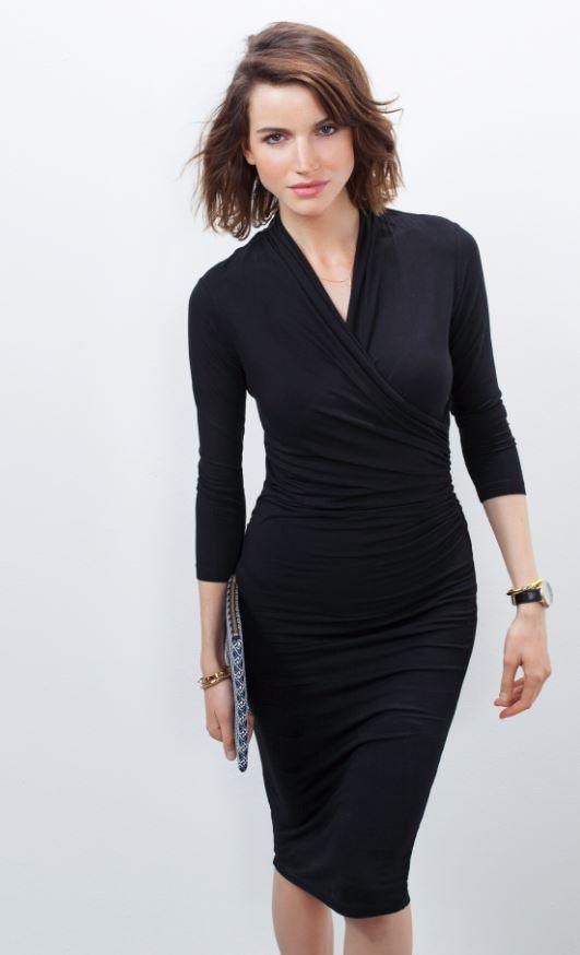 Darton Dress | BAUKJEN | SS15 http://www.baukjen.com/shop/baukjen/dresses/darton-dress-caviar-black.htm