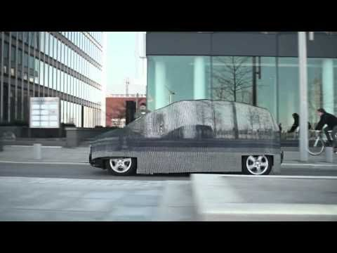 Mercedes: Invisible Car When Mercedes wanted to promote its new fuel cell vehicle, instead of placing it squarely in front of everyone in the world, the company decided to make the car invisible. We have video.
