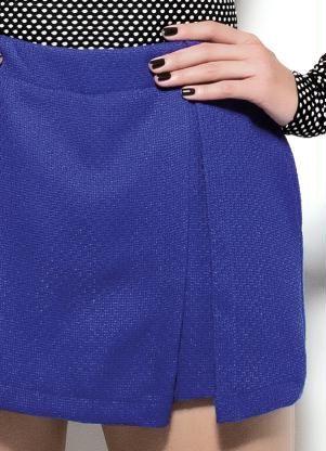 Shorts Colcci Azul Alfaiataria - Posthaus