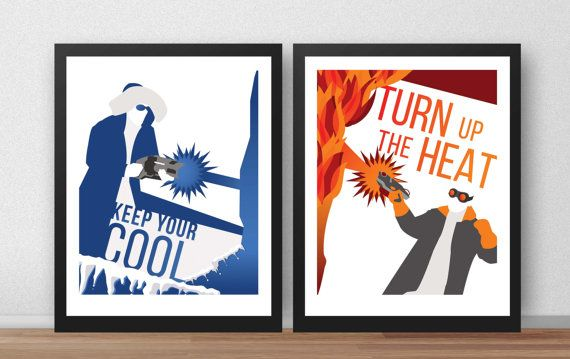 Legends of Tomorrow Poster Series by LegendsPosters on Etsy