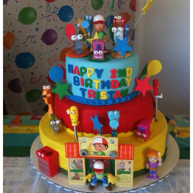 122 best images about cakes on pinterest special agent for Handy manny decorations