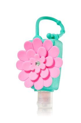 Hot Pink Chrysanthemum PocketBac Holder - Bath & Body Works - Bath & Body Works