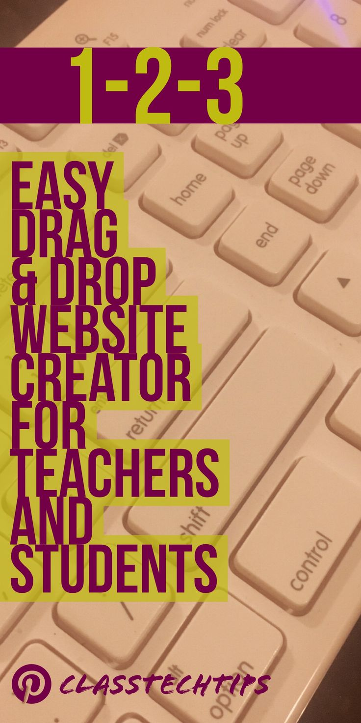 best ideas about website creator online 1 2 3 easy drag drop website creator for teachers and students