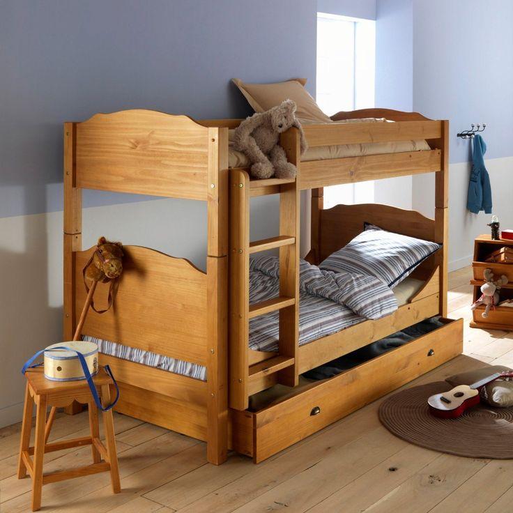 17 meilleures id es propos de lit superpos pas cher sur - Lit superpose avec escalier pas cher ...