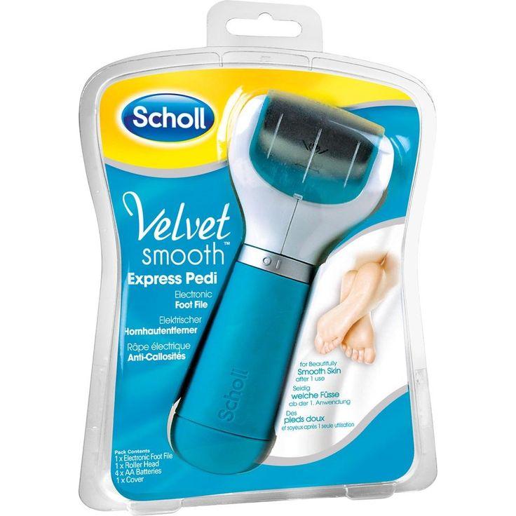 SCHOLL Velvet smooth Expr.Pedi Hornhautentf:   Packungsinhalt: 1 St PZN: 10186520 Hersteller: Reckitt Benckiser Deutschland GmbH Preis:…