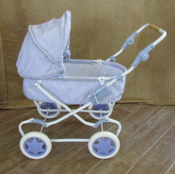 Pram Bitty Baby Carriage Retired American Girl Doll Folds