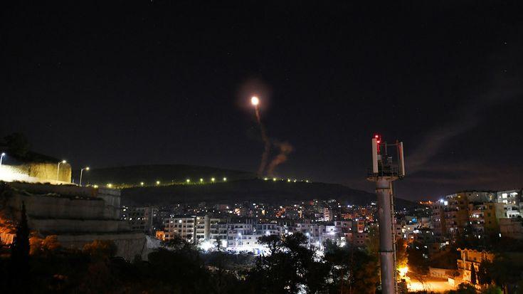 Sana Suriah Berhasil Telikung Agresi Israel Di Damaskus Damaskus Irak Explosions
