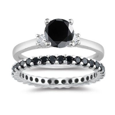 BLACK DIAMOND ENGAGEMENT RINGS >> Black Diamond Engagement Ring Tips ...