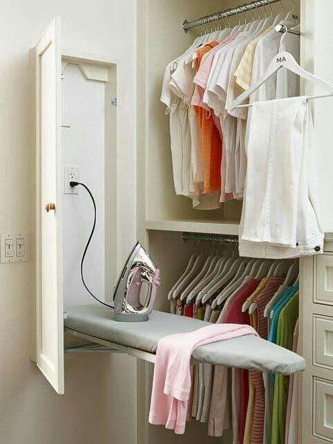 Boa idéia! #lavanderia  Foto : Facebook / Organize Sem Frescuras
