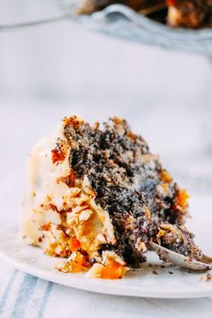 EAT ME!: МАКОВЫЙ ПИРОГ (БЕЗ МУКИ) / NO FLOUR POPPY SEED CAKE