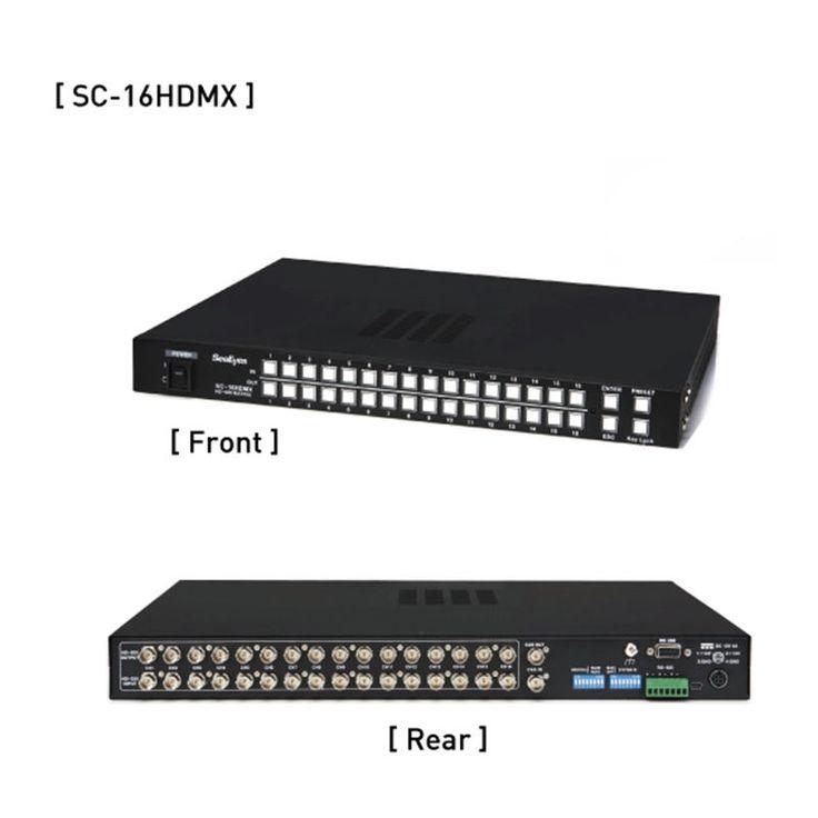 Samsung SeeEyes SC-16HDMX 16x16 HD-SDI Matrix Switcher CCTV Video System New #SeeEyes