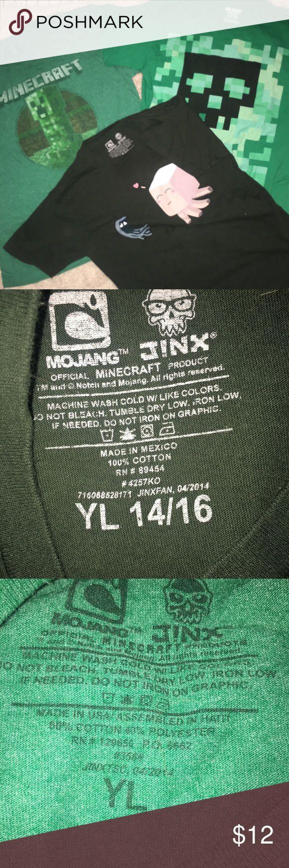 25 unique minecraft t shirt ideas on pinterest minecraft party boys minecraft t shirt bundle gamestrikefo Choice Image