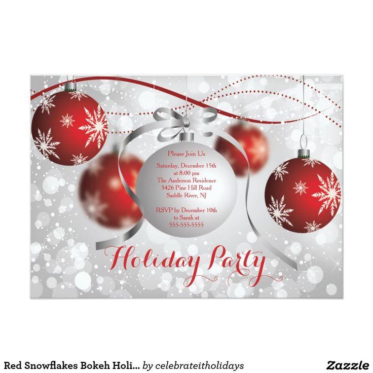 7 best Christmas invitations images on Pinterest | Invitation cards ...