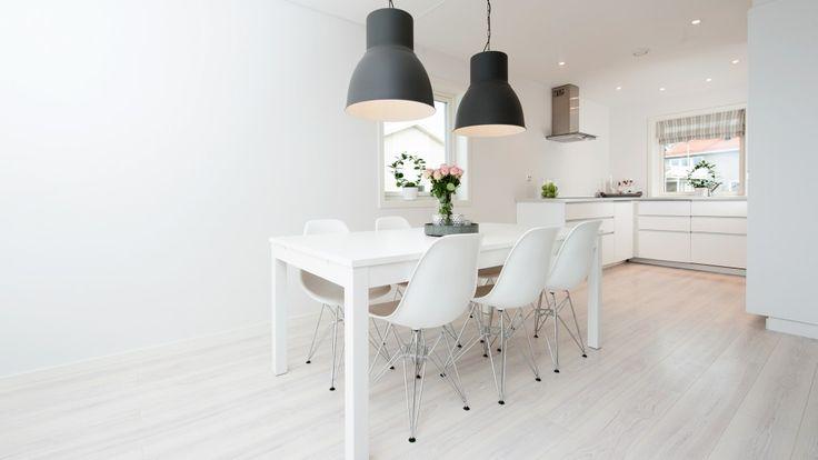 Spiseplass og kjøkken