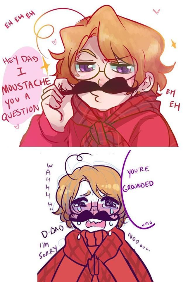 Oh, Canada- is it just me or Does anyone else just wanna hug he heck out of Canada in the second panel?