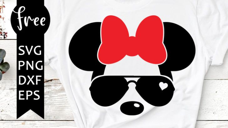 Minnie Mouse Bow Svg Free Disney Svg Bow Svg Instant Download Silhouette Cameo Shirt Design Minnie Svg Minnie Bow Svg Png 0401 Fr In 2020 Free Svg Svg Minnie