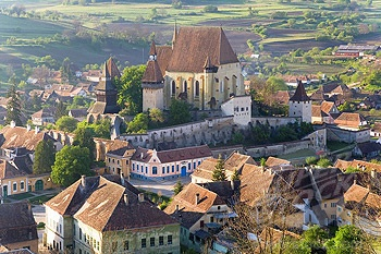 Biertan - another beautiful fortified church in Transylvania.  Photo by http://www.superstock.com/stock-photos-images/1566-469595