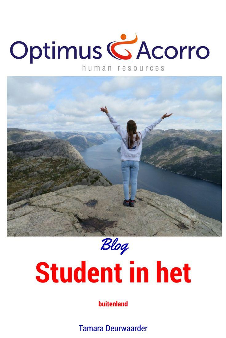 Tamara Deurwaarder studeert Human Resource Management in Tilburg, maar werkt daarnaast zodra het kanaan uitdagende projecten van Optimus Acorro. Ze is recent teruggekomen van een uitwisselingsprogramma en deelt hieronder haar ervaringen.