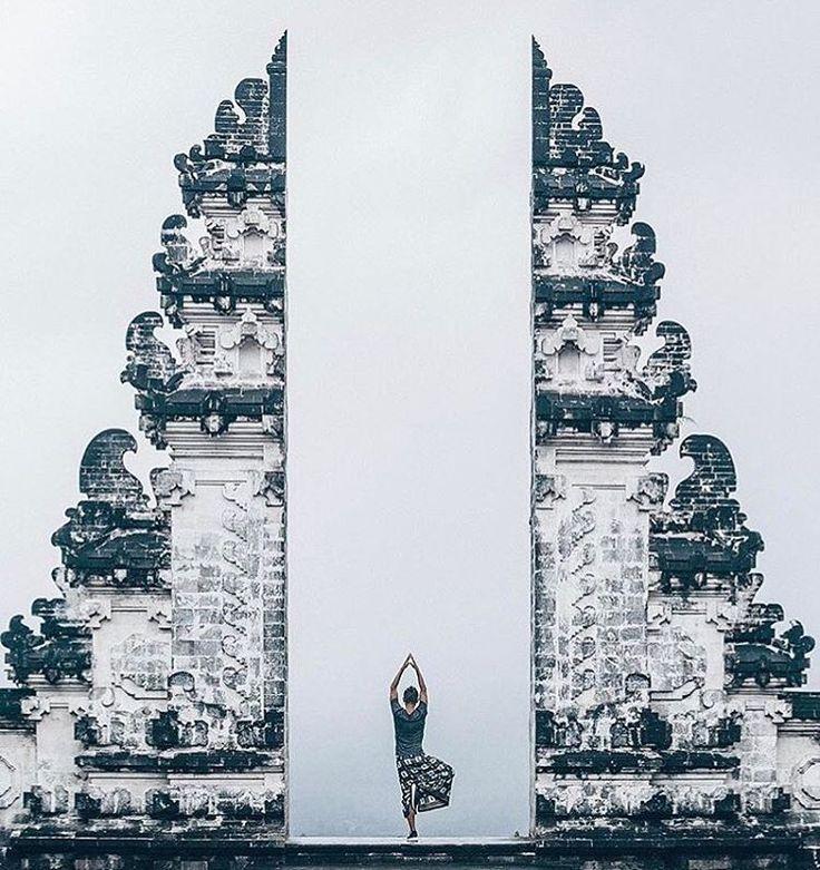 """Magnificent Lempuyang Temple. Photo by: @sergeykbn #destinationunlocked #lemeridien #lemeridienbali…"""