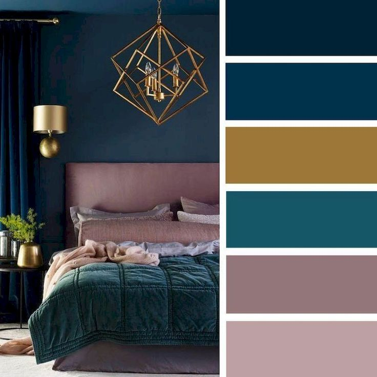 marvellous bedroom gray color schemes | 72 Simple Bedroom Decorating Ideas with Beautiful Color ...