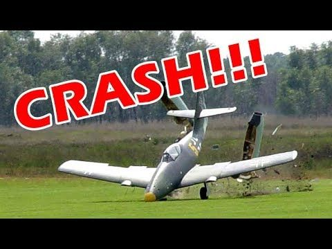 RC Plane Crash 2019! Even the Parking Lot is not safe from