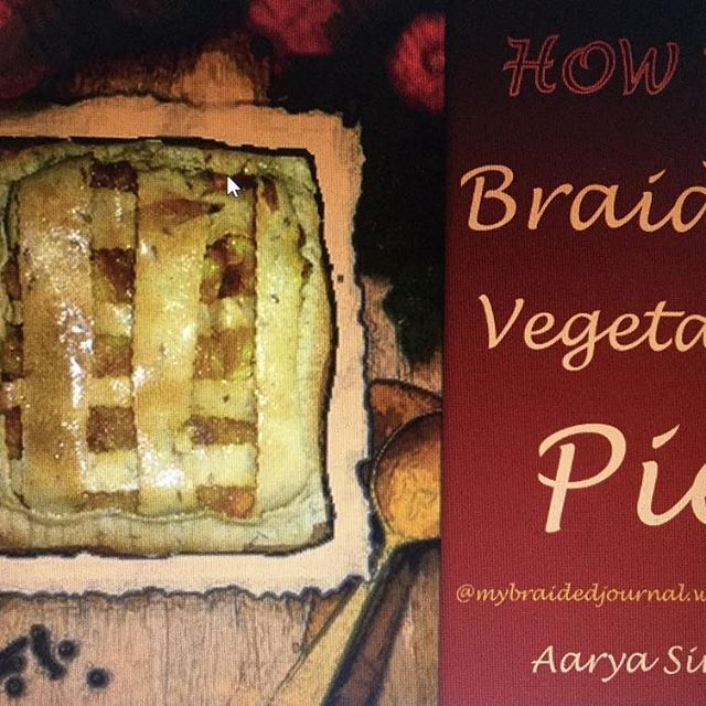 So here's the recipe of Braided Vegetable Pie.. Link is in my bio.. Don't forget to share your experience with me if you make the pie and tag me too 😊.