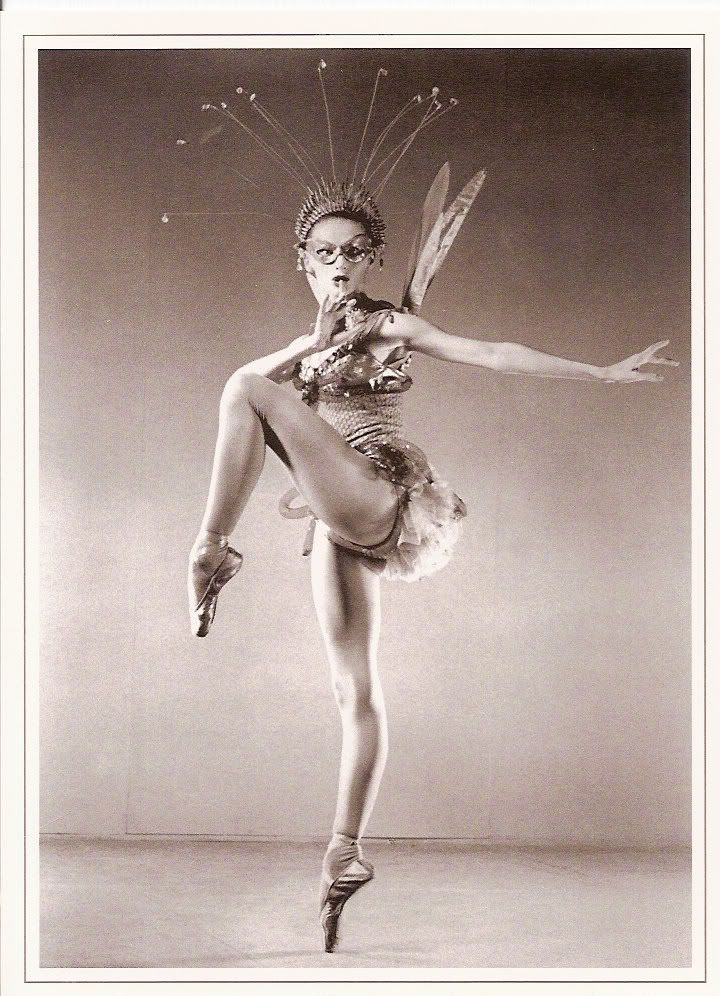 Tanaquil le Clercq in Balanchine's ballet Metamorphoses.