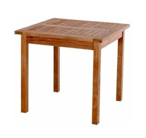 Bahama 35 in. Square Table - Unfinished, As Shown