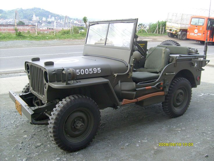 1946 Willys MB - photo submitted by Carlos Alberto Arango Villa
