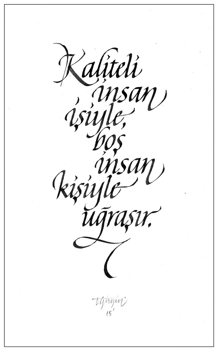 Italic Calligraphy Experiments on Behance