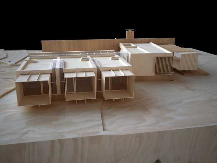 Design Process model of Casa VV  What is on the boards now ... West Facade