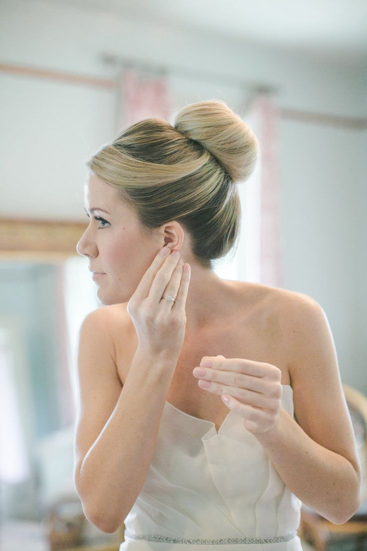 The perfect bridal hair #bun