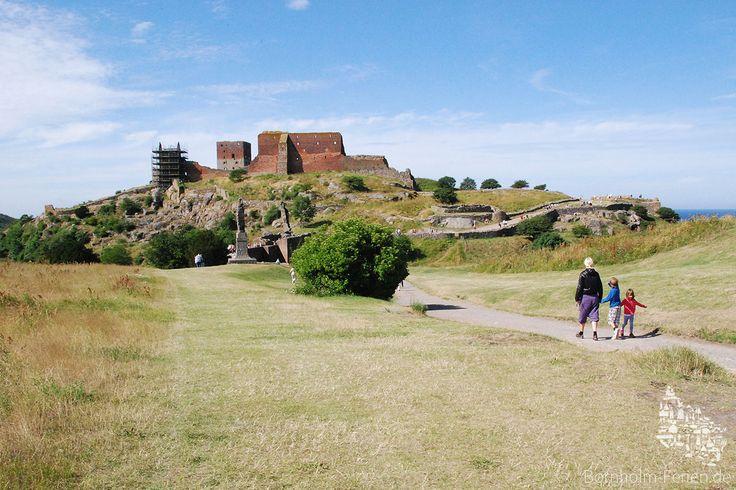 Hammershus, Bornholm - Denmark  #hammershus #burg #ruine #castle #ruin #bornholm #denmark #dänemark #danmark