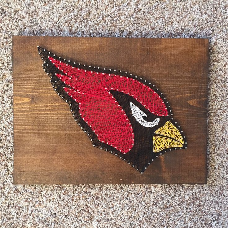 A personal favorite from my Etsy shop https://www.etsy.com/listing/256847942/custom-arizona-cardinals-logo