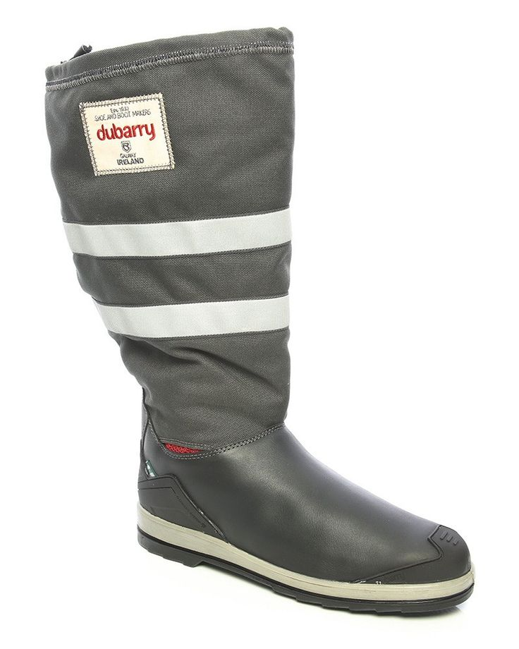 DUBARRY: Crosshaven Waterproof Sailing Boots: £325. A popular Dubarry sailing boot, the Crosshaven is uniquely designed with minimal seams to reduce wear in critical areas. Offering optimum performance out at sea, these waterproof ladies' sailing boots have an essential non slip sole and also feature a reinforced toe and heel due to the D-chassis system which adds extra support and protection. Why not add a Dubarry waterproof jacket for women to your performance kit? A high performance…