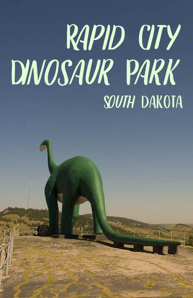 It S One Jurassic Park Rapid City Dinosaur Park In South Dakota South Dakota Roadside Attractions Http W Dinosaur Park Road Trip Fun South Dakota Road Trip