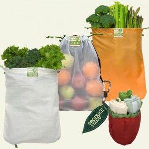 Biome: ChicoBag reusable produce bag kit - set of 3