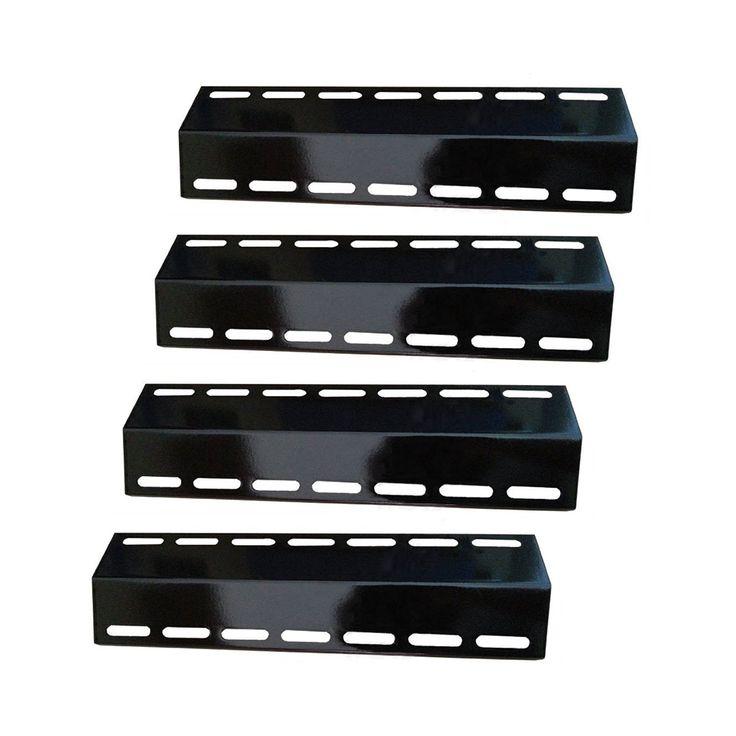 Kirkland Nexgrill Procelain Steel Grill Heat Plate Replacements Heat Shield 4pcs