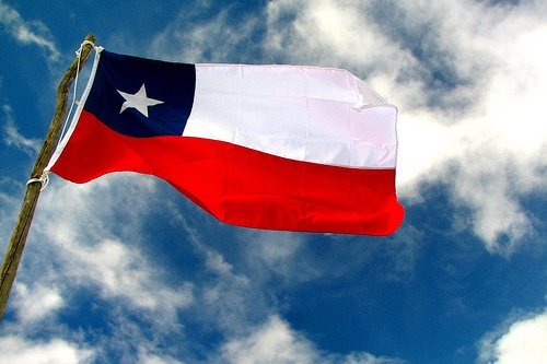 our beautiful chilean flag