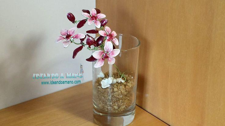 C mo hacer flores de cerezo con alambre y esmalte - Alambre de cobre ...