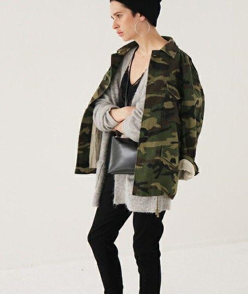 カモフラージュジャケット(ミリタリージャケット)|TODAYFUL(トゥデイフル)のファッション通販 - ZOZOTOWN