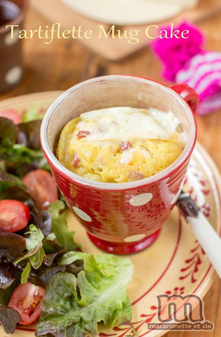 Tartiflette mug cake (micro-ondes)