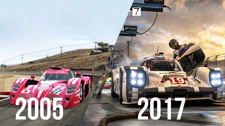 Evolution of All Forza Games 2005 - 2017 (Video Games)