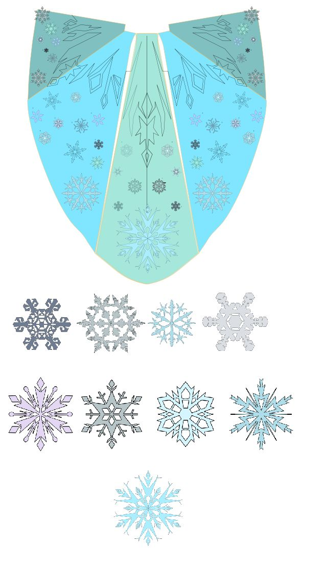 Cape and snowflakes by Cosmic-Empress.deviantart.com on @deviantART