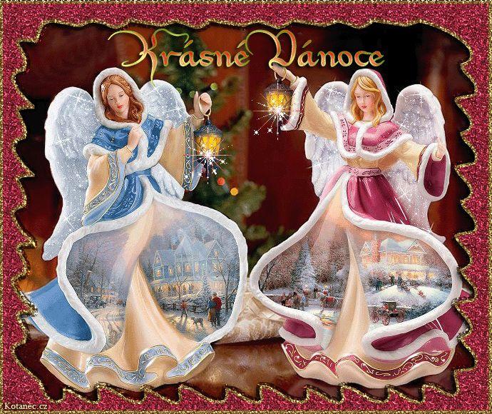 vánoční přání - přáníčka 053