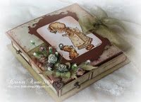 Kirstens Blogg: Tutorial - Box with 4 drawers...