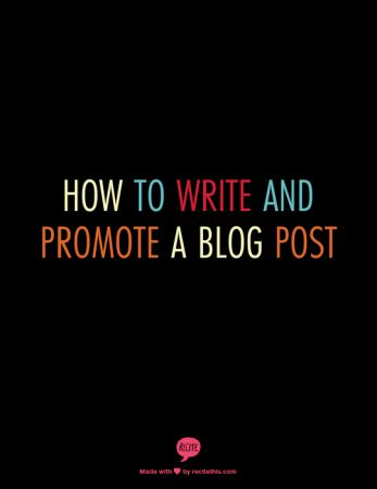 ways to promote a blog
