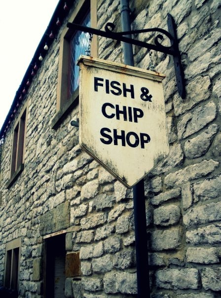 fish & chip shop. I've never had authentic fish 'n chips, but the stuff I've had is my absolute favorite. maybe someday.