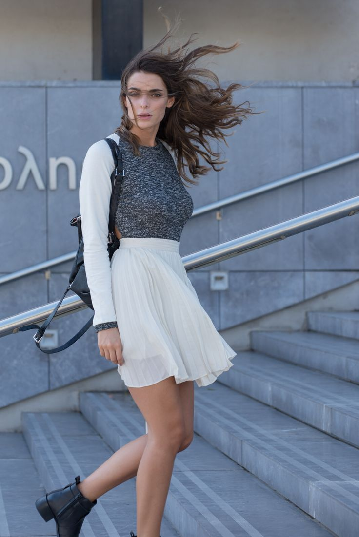 By nadia rapti , body & plead skirt