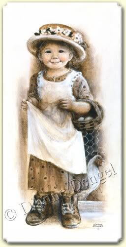 Little Girl Image. . .I have this image from Dianne Dengel and have always loved it!